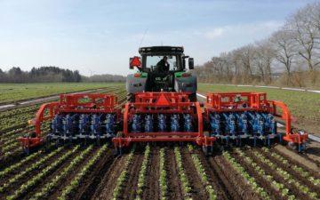 15 lines Ferrari automated weeder