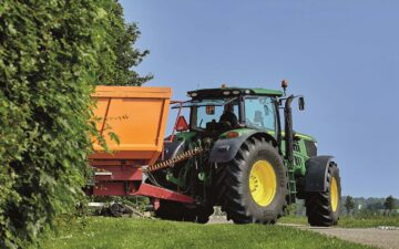 Choosing the right equipment to work 350,000 sq.m. of agricultural land